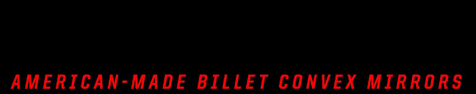 Navigator American Made Billet Convex Mirror Logo
